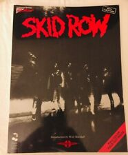 Skid Row Self Titled Album Authentic Guitar Tab Songbook