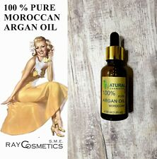 EU Grade 100% Pure Natural Moroccan Argan Oil Hair & SkinTreatment - 30 ml
