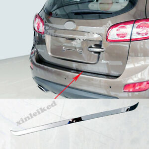 FIT FOR HYUNDAI SANTA FE 2006-12 Stainless Automotive Trunk Tail Door Trim Cover