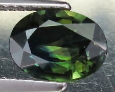 2.28 Ct. RAVISHING 9.2X6.8 MM. OVAL 100% NATURAL TOP GREEN SAPPHIRE!!NICE!!CLEAN