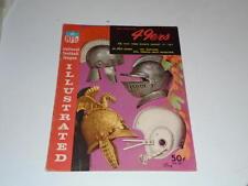 1962 NEW YORK GIANTS AT SAN FRANCISCO 49ERS NFL FOOTBALL PROGRAM