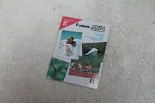Canon Camera Manuals & Guides
