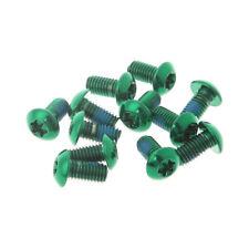 12 piezas acero de aleación M5 x10mm Tornillos Torx T25 Cabeza TITANIO