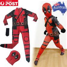 Superhero Deadpool Costume Adult Suit Bodysuit Halloween Costumes For Kids Child