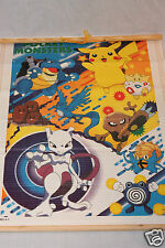 NEW IN PACKAGE MEWTO POKEMON MINI BAMBOO WALL SCROLL POCKET MONSTERS