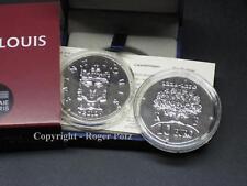 10 Pièces Louis Argent Finition Antique PP Ludwig IX