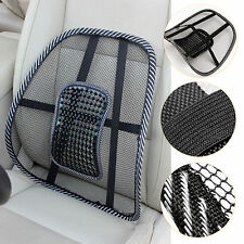 Mesh Back Support Lumbar Lower Lumber Cushion Pain Relief Car Seat Office Chair