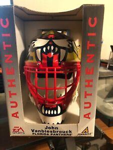 SIX John Vanbiesbrouck Souvenir NHL Goalie Masks Pinnacle/EA Sports From Case