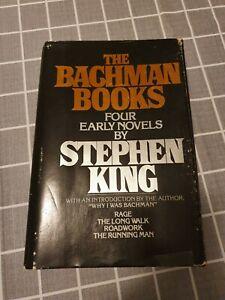 The Bachman Books Stephen King US First Edition  Hardback Trade DAMAGED