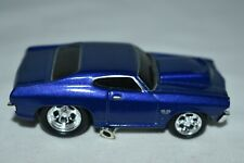 Muscle Machine 1:64 Diecast 1969 CHEVY CHEVELLE SS Blue