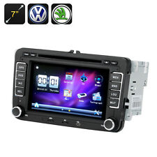 2 DIN Car DVD Player - 7 Inch Screen,GPS, Bluetooth,For VW + Skoda Cars,  Radio
