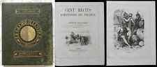 Bb] E. Cortambert LE GLOBE ILLUSTRÉ 100 récits Histoire de France Hachette 1881