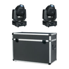Showtec Phantom 65W LED Spot Moving Head Prism Gobo DJ Lighting inc Flightcase
