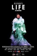"EASON CHAN ""ANOTHER LIFE IN SHENYANG"" 2016 CHINA CONCERT TOUR POSTER - Cantopop"