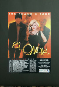 blondie Hand Signed Photograph