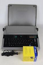 Vintage Panasonic Kx R335 Electric Portable Typewriter 4 Ink Cartridges Tested