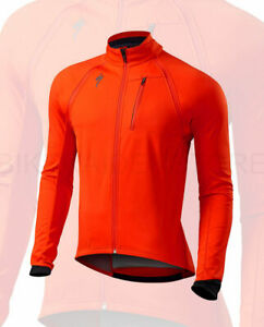 Specialized Men's Element 2.0 Hybrid Cycling Jacket Moab Orange - Medium