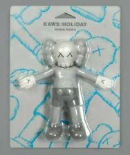 KAWS HOLIDAY Hong Kong 6.5 inch Companion Bath Toy Figure Grey In Hand XI Rare