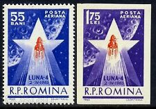 1963 Lunik 4,Moon Rocket,Lunik 4,LUNA 4,Satellite,Space,Romania,Mi.2143,MNH