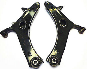 PAIR NEW FRONT LOWER CONTROL ARMS & BALL JOINT FOR SUBARU LIBERTY BL BP 2003-09