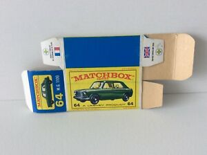 MATCHBOX 64 FLAT BOX FOR M.G.1100,  see pictures for condition