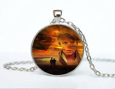 Star Wars Photo Cabochon Glass Tibet Silver Chain Pendant Necklace AAA61