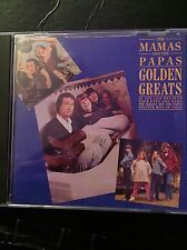 The Mamas & Papas Golden Greats Used 20 Track Greatest Hits Cd 60s Pop Folk
