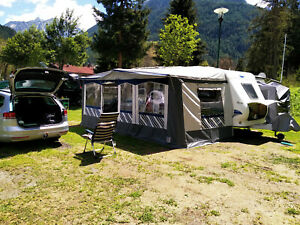 Wohnwagen Hobby de luxe easy 540UF mit Vorzelt Sat - Anlage - Mover