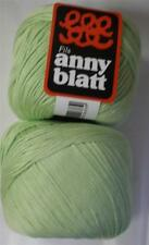 ANNY BLATT ASSOUAN MERCERIZED COTTON DK/LIGHT WORSTED YARN 1 BALL LIME ICE (31Q)