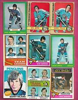 VINTAGE PITTSBURGH PENGUINS  OPC 23 CARD LOT INLC KEHOE APPS  CL  (INV# C9076)