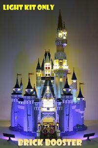 USB Powered LED Light Kit for Lego 71040 Disney Castle