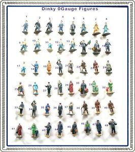 AC1525:Various O Gauge Dinky Railway Figures