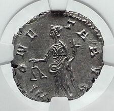 POSTUMUS Authentic Ancient 268AD Genuine GALLIC Roman Coin MONETA NGC i81662