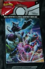 Mega Mewtwo Y & X Deck Box For Collectible Trading Cards Games Pokemon Case NEW