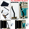 For HUAWEI Y6 2018 LCD Display Touch Screen Digitizer Assembly +Tool Replacement