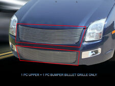 Fits 2006 2007 2008 2009 Ford Fusion Billet Grille Grill Combo Grill