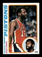 1978-79 Topps #125 Bob Lanier NM/NM+ Pistons 403007