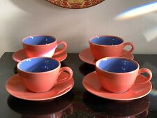 Lindt Stymeist Colorways Set of 4 Cups and Saucers