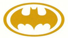REFLECTIVE Batman highly yellow fire helmet die cut decal yeti window sticker