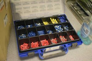 530pcs Quality Assorted Electrical Wire Cable Terminal Crimp Connector Set Kit
