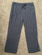 Men's XL HeatKeep Lounge Pajama Pants Gray
