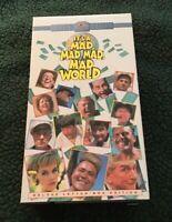 Its a Mad, Mad, Mad, Mad World VHS, (2-Tape Set)