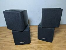 2 BOSE DOUBLE CUBE speakers with wall brackets