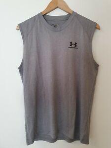 UNDER ARMOUR Sleeveless Training T-Shirt Size M