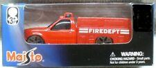 NIB 2006 MAISTO-Transit Authority-1/64 Diecast Red Fire Truck
