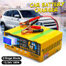 200AH Auto Car Battery Charger Full 5 Modes Intelligent Pulse Repair 12/24V
