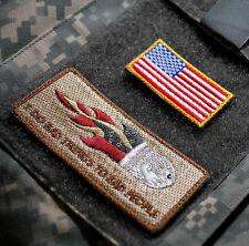 KANDAHAR WHACKER JSOC USMC KILLER ELIET FORCE RECON SET: Flying Bullet + US Flag