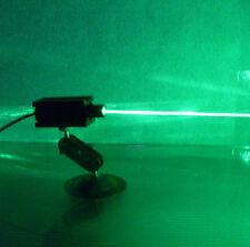 Focusable real 150mw 532nm green laser module focusing / burning laser / bracket