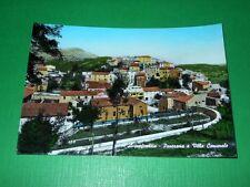 Cartolina Acquafondata - Panorama e Villa Comunale 1967