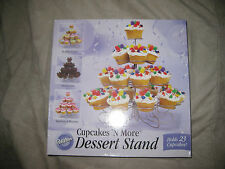 WILTON CUPCAKES AND MORE DESSERT STAND HOLDS 23 CUPCAKES! MIB